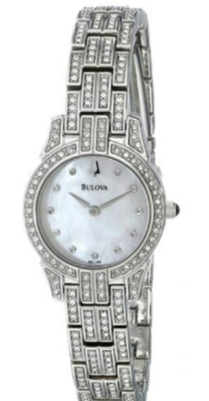 607c35b97a628 Bulova Crystal watch